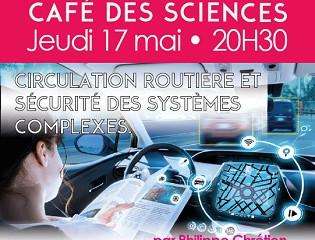 Café des Sciences – jeu 17 mai - 20h30