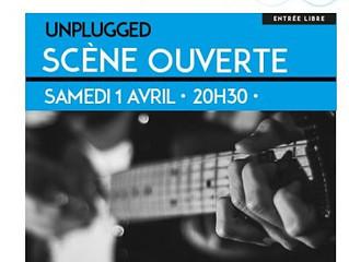 Scène ouverte Unplugged 1avril 20h30