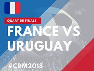France-Uruguay - vendredi 6/07 - 16h