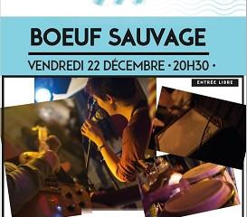 Boeuf sauvage Ven 22 Déc - 20h30