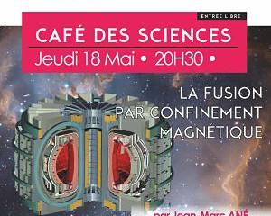 Café des sciences jeudi 18 mai 20h30