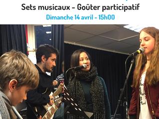 Salon de Musique - Dim 14/04 - 15h