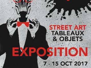 Exposition Street Art du 7 au 15 Octobre.