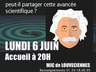 Café des Sciences Lundi 6 Juin