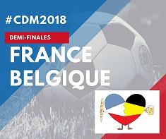 France Belgique  Mardi 20/07 - 20h