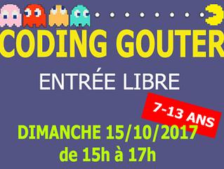 Coding Gouter Dimanche 15 /10