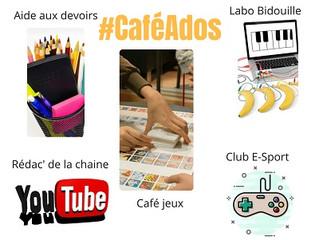 Rentrée du Café Ados mardi 4/09
