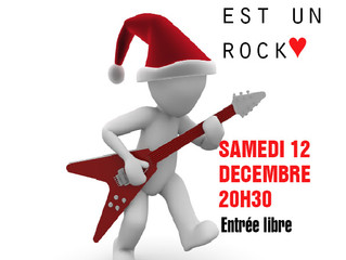Le père Noel est un rock♥ Samedi 12 décembre