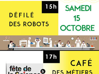 Café des Métiers samedi 15 octobre 17h