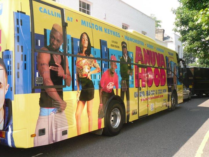 The Anuvahood Tour Bus - 2011