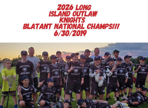 Two Championships at Blatant National