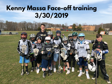 Face-Off Training with Kenny Massa (Ohio Machine)