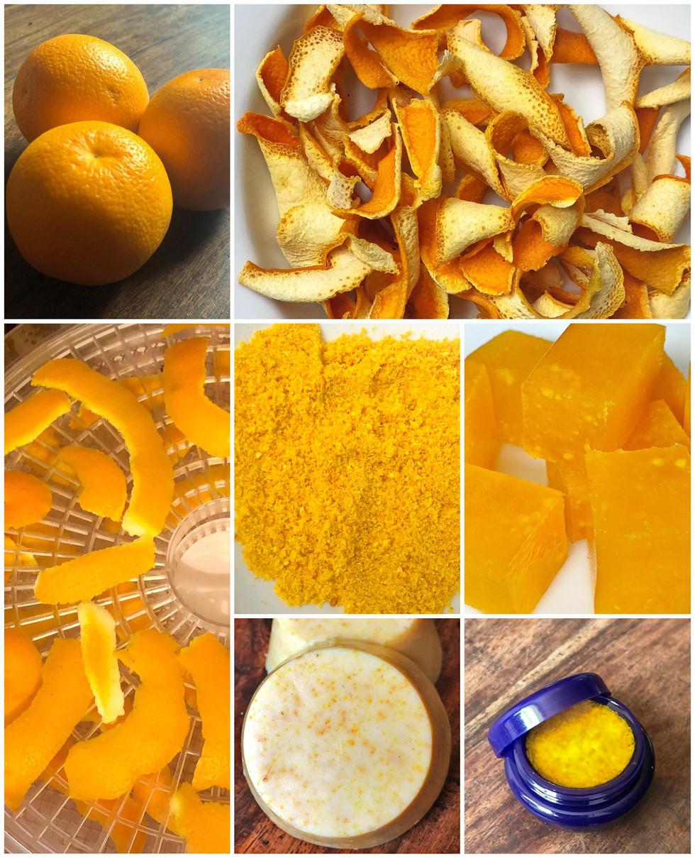 The Many Uses of Orange Peels
