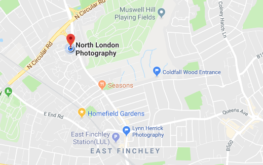 Directions to North London Photography