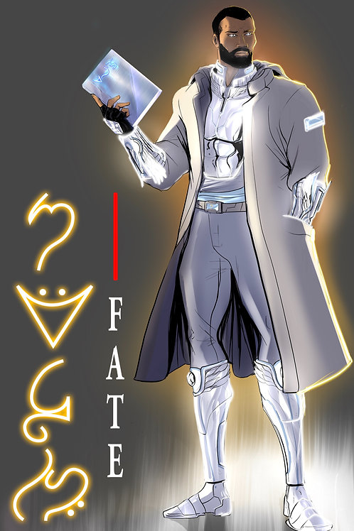 Fate Character Poster 11X17