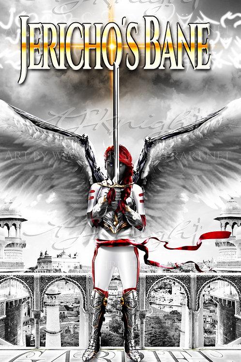Jericho's Bane Character Gabriel Poster  Color pop