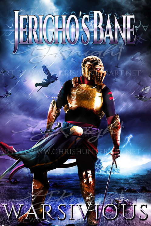 Jericho's Bane Character Poster, Warsivious