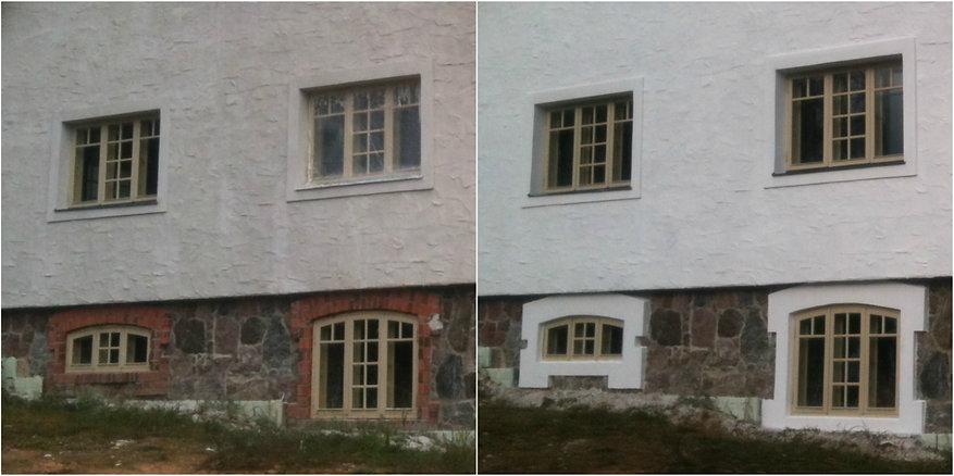 lubikrohv välisviimistlus aknapõsed