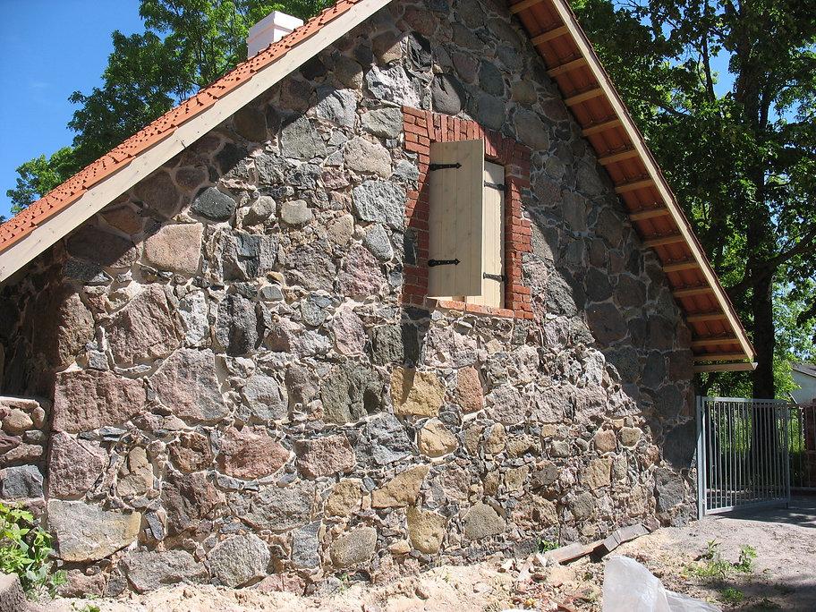 kaagvere hoone taastamine restaureerimine lubikrohv maakivi vuukimine