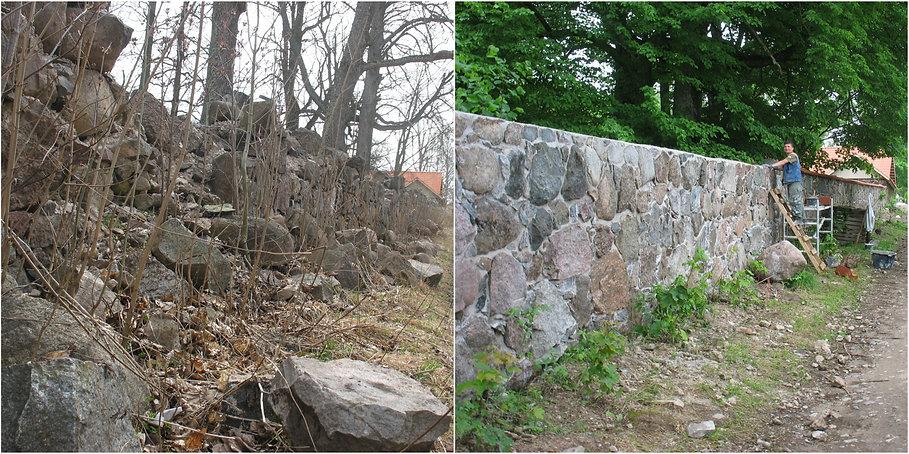 kaagvere hoone taastamine restaureerimine lub maakiviaed vuukimine