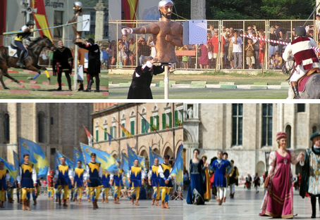 Discovering the Quintana, one of the most striking Italian historic commemorations