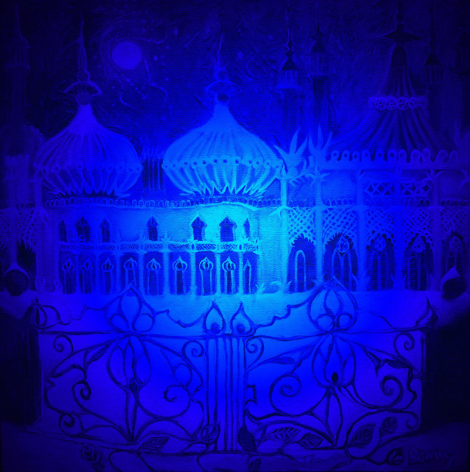 Icy palace gates