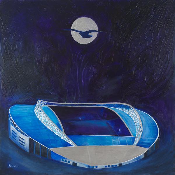 Over The Moon (Amex Stadium Falmer)