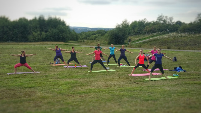 Yoga Picnic is coming on 28/8 & Classes are back in September....