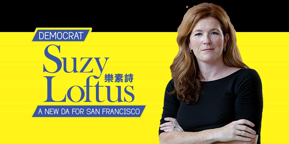 April Salon: An Evening with SF DA Candidate - Suzy Loftus