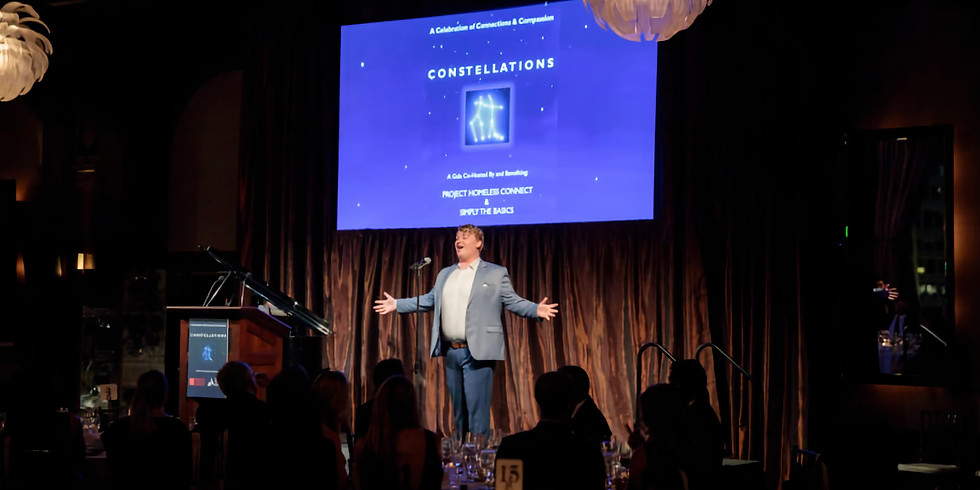 Constellations Gala to Support Project Homeless Connect