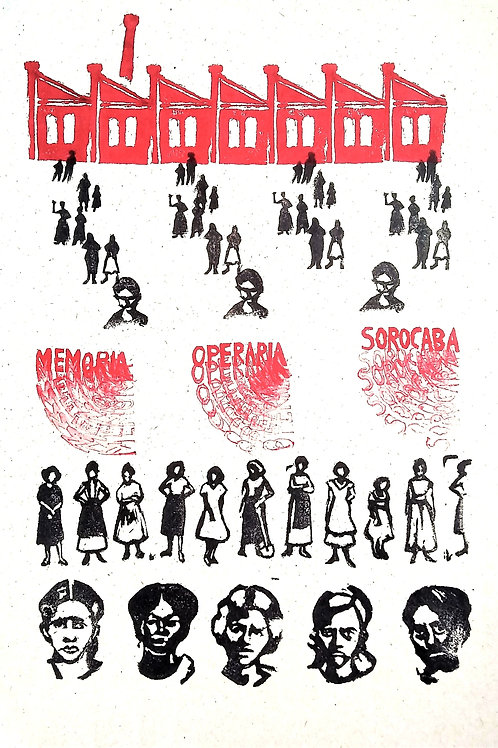 Pôster: Memória Operária Sorocaba