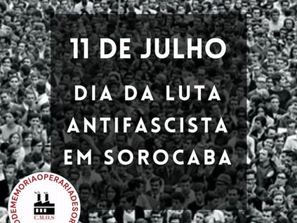 11 de julho de 1937: Dia da Luta Antifascista em Sorocaba