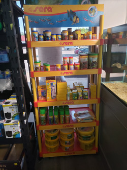Sera brand foods, for your single tank or an entire fish room needs.