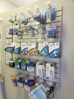 Testing supplies, medicines, and chemicals. We have all the supplies you need to have a successful a