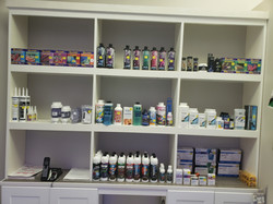 Testing supplies, medicines, and chemicals. We have all the supplies you need.