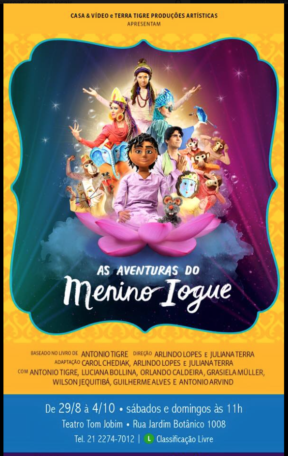 As Aventuras do Menino Iogue