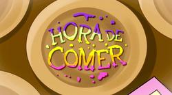 HORA DE COMER