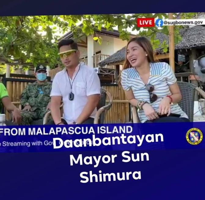 Daanbantayan Mayor Sun Shimura