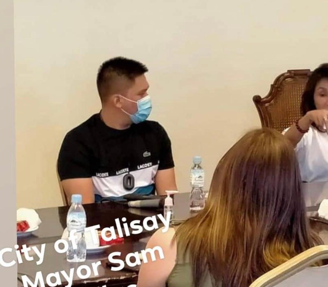 Talisay City Mayor Sam Gullas