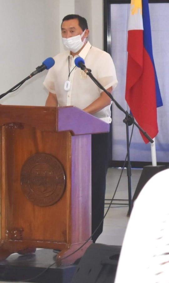 Governor Art Yap of Bohol