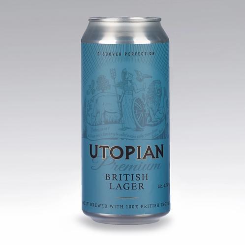 Utopian Premium British Style Unfiltered Helles Lager