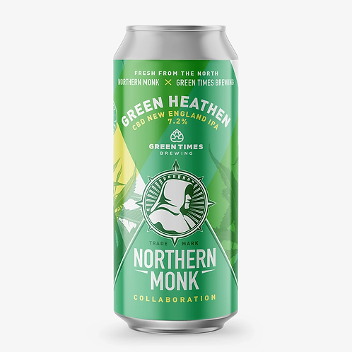 Northern Monk Green Heathen NEIPA (Brewed with CBD)
