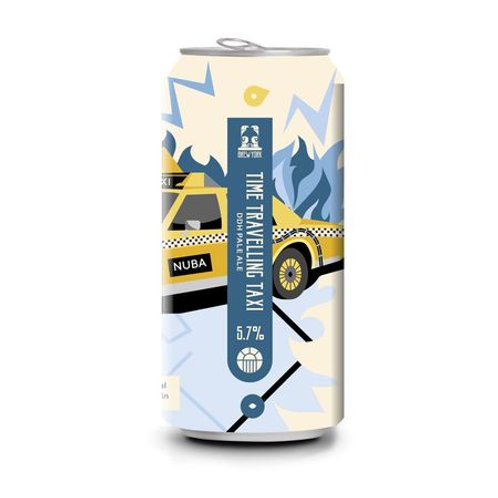 Brew York Time Travelling Taxi Pale Ale