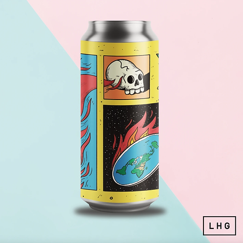 Left Handed Giant Scorched Earth Hazy IPA