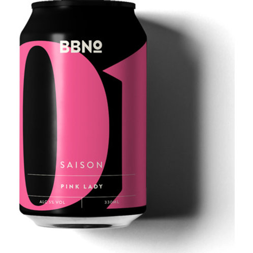 Brew By Numbers Pink Lady Saison