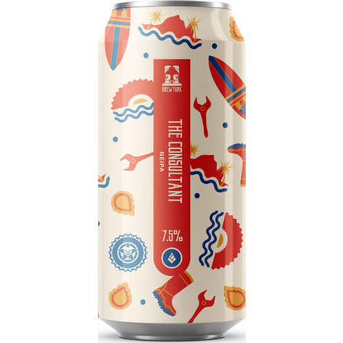 Brew York x Drop Project The Consultant NEIPA
