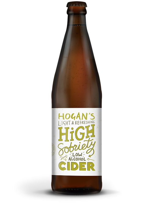 Hogan's High Sobriety Low Alcohol Cider