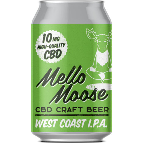 Glen Affric Brewery Mello Moose IPA (CBD)
