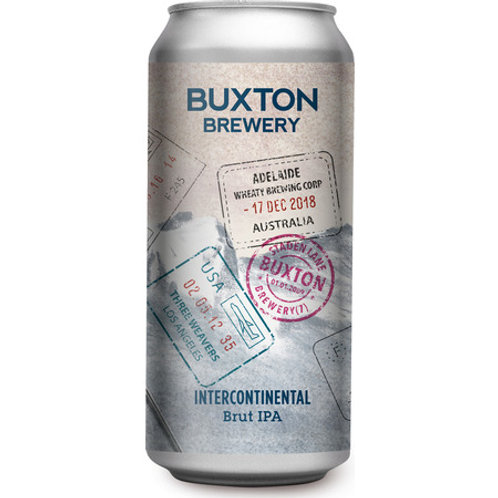 Buxton x Three Weavers Intercontinental Brut IPA