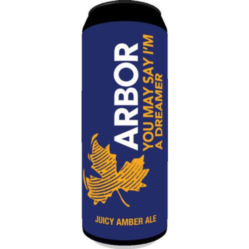 Arbor You May Say I'm A Dreamer Juicy Amber Ale